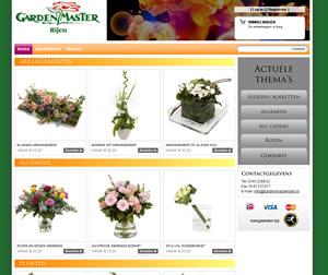 Bloemen Rijen onlinem webshop